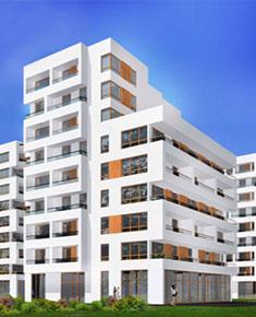 Multi-family residential buildings with car parks in ul. Witebska in Warsaw