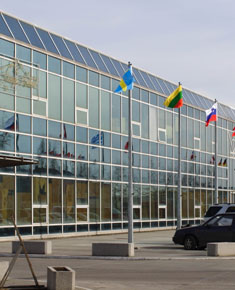 Wholesale Trade Centre in Wólka Kosowska near Warsaw