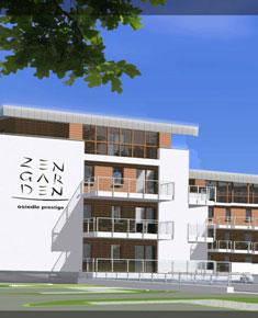 """""""ZEN GARDEN"""" multi-family residential buildings with car parks in Szeligi, Ożarów Mazowiecki Commune"""